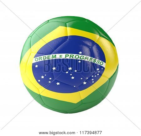 Soccer Ball Brazil 3D