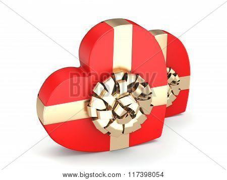 Red Boxes Heart