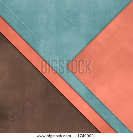 Paper background with soft texture - abstract flyer design
