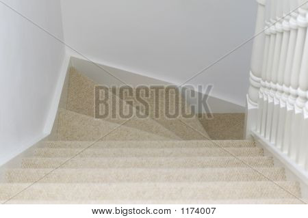 View Down Stairs
