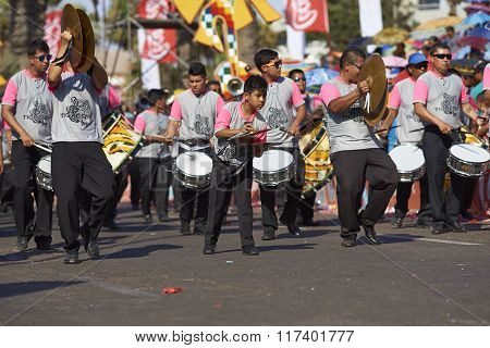 Band of a Caporales Dance Group