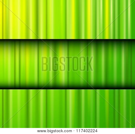 Abstract background green lines pattern texture. Vector illustration.