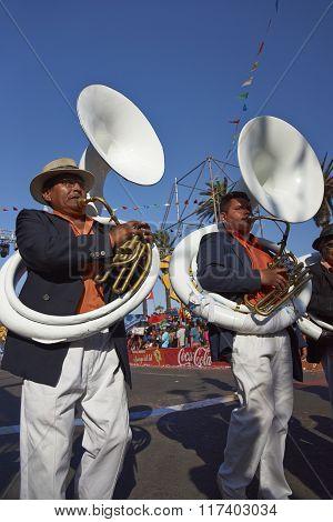 Band of a Morenada Dance Group