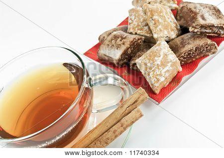 Tea at winter time