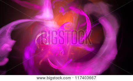 Abstract image. Fractal Wallpaper on your desktop.