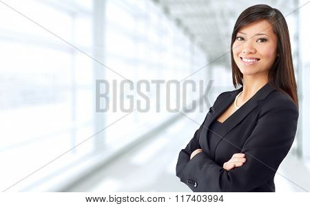 Asian business woman.