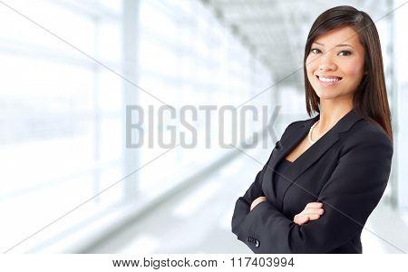Asian business woman.