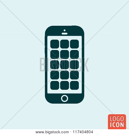 Smartphone icon design