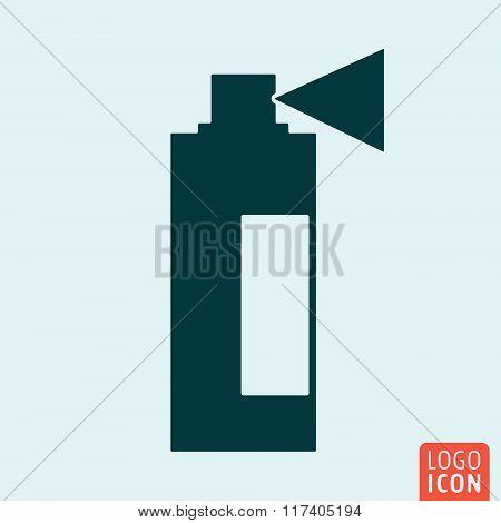 Spray icon design