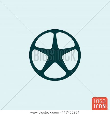 Wheel icon design