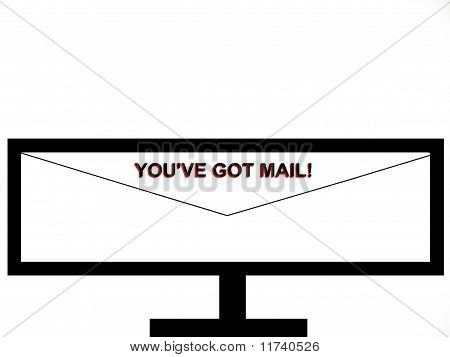 You've Got Mail Television Screen