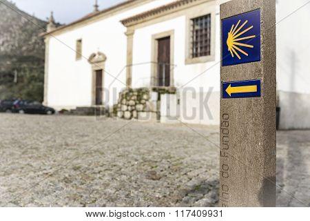 way of Saint James signpost