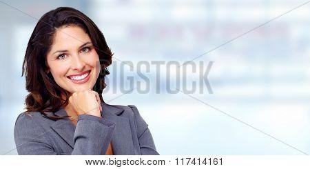 Beautiful business woman.