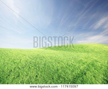 Beautiful landscape background.