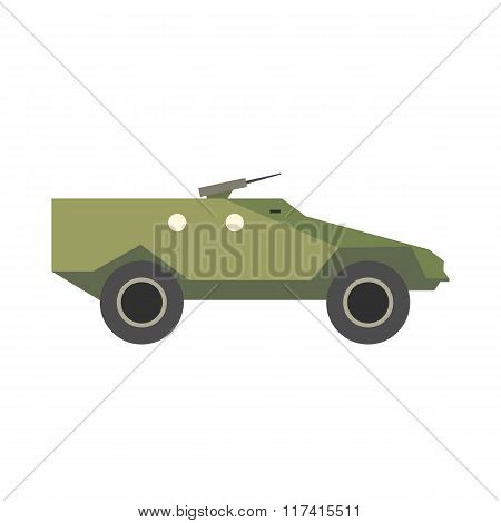 Tank flat icon