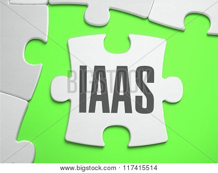 IaaS - Jigsaw Puzzle with Missing Pieces.