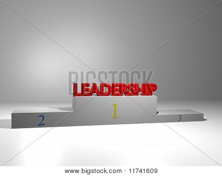 Podium - Leadership