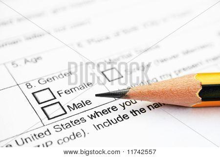 Male - female check