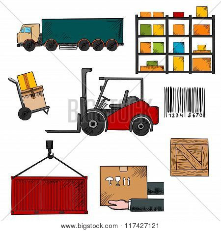 Delivery, shipping and freight objects