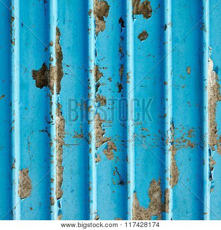 Corrugated Metal Sheet Background