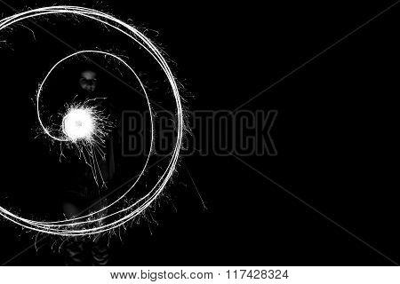 Spark circle