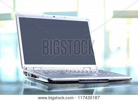 modern and stylish laptop