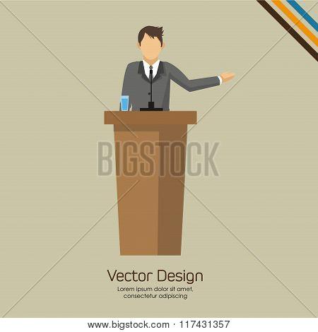 Businesspeople icon design