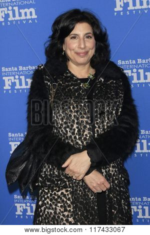 SANTA BARBARA - FEB 4:  Sue Kroll at the 31st Santa Barbara International Film Festival - Maitlin Modern Master Award at the Arlington Theatre on February 4, 2016 in Santa Barbara, CA