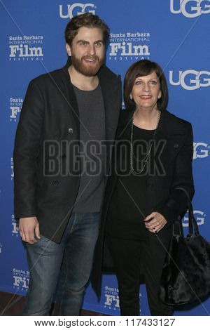SANTA BARBARA - FEB 4:  Jeremy Ungar, Robin Miller Ungar at the 31st Santa Barbara International Film Festival Modern Master Award at the Arlington Theatre on February 4, 2016 in Santa Barbara, CA