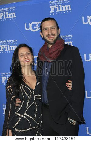 SANTA BARBARA - FEB 4:  Rachel Rossitto, Ben Henretig at the 31st Santa Barbara International Film Festival Modern Master Award at the Arlington Theatre on February 4, 2016 in Santa Barbara, CA