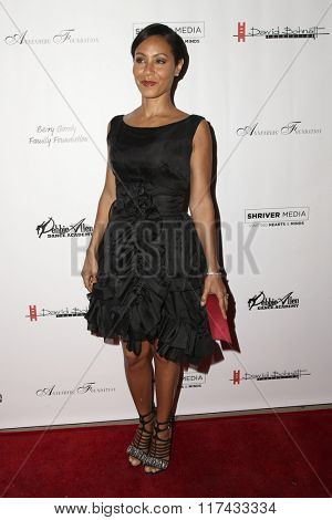 LOS ANGELES - FEB 4:  Jada Pinkett-Smith at the Debbie Allen's Freeze Frame U.S. Premiere at the Wallis Annenberg Center for the Performing Arts on February 4, 2016 in Beverly Hills, CA