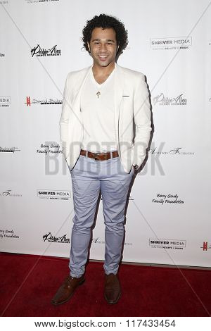 LOS ANGELES - FEB 4:  Corbin Bleu at the Debbie Allen's Freeze Frame U.S. Premiere at the Wallis Annenberg Center for the Performing Arts on February 4, 2016 in Beverly Hills, CA