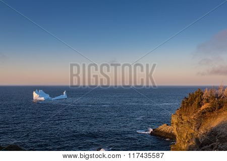 Iceberg Off The Coast Of Newfoundland And Labrador
