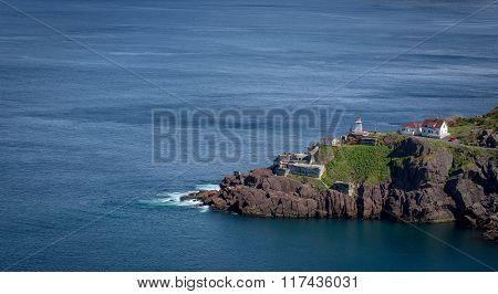 Scenic Fort Amherst Along The Newfoundland Coast