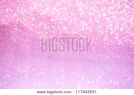 Pink Glitter Surface With Pink Light Bokeh - It Can Be Used For Background For Special Occasions Pro