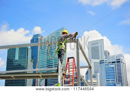 Singapore Worker