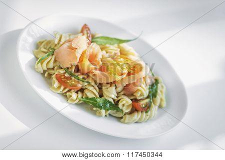 Smoked Salmon And Cream Pasta