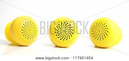 Bluetooth Speaker On White Background