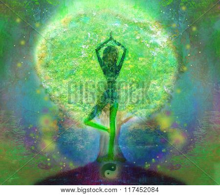 Yoga Tree Of Life