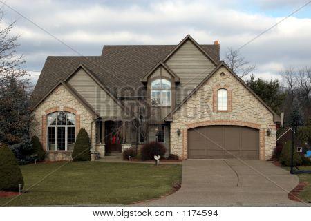 Newer Home - Tudor Style