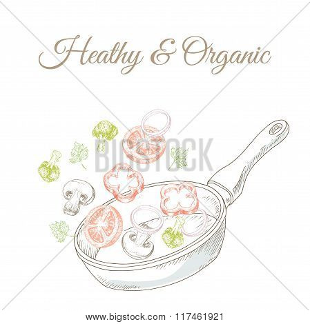 Vegan menu cover