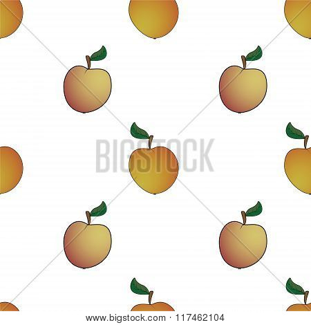 Apple  Abstract Seamless Pattern