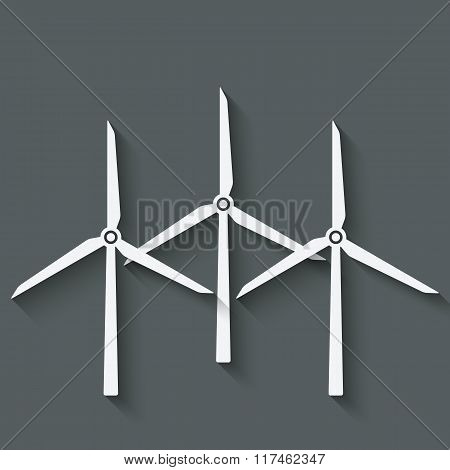 wind turbine symbol
