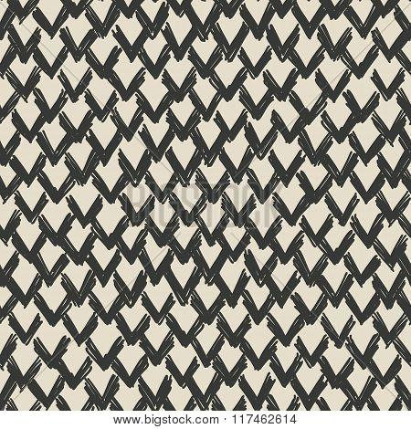 Zigzag Drawn Pattern