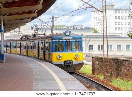 Gdansk. Passenger train.
