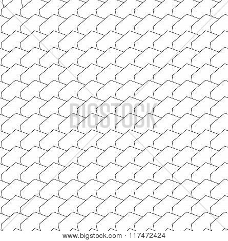 Repeatable Abstract Pattern With Geometric Angular Shapes