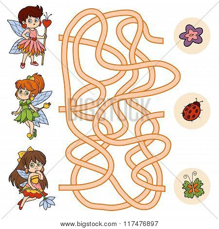 Maze Game For Children (little Fairy)