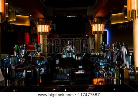 View of bar interior