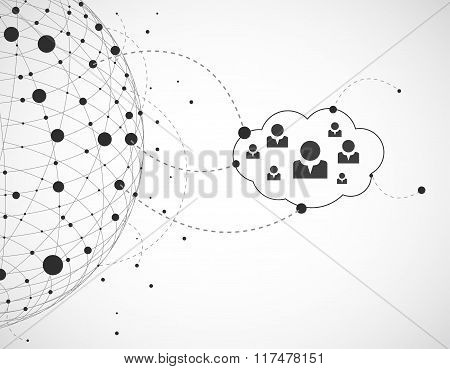 Abstract Background With Cloud.technology Theme