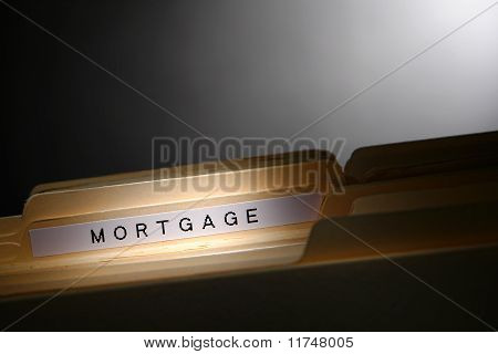 Mortgage File Folder